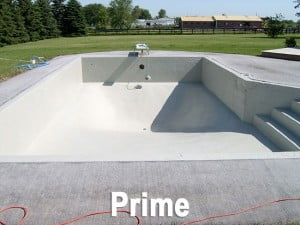 Prime Coat Rubber Membrane Pool Coating