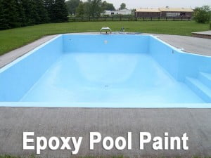 Blue waterproofing pools - DIY
